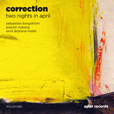 Two Nights in April - CD cover art