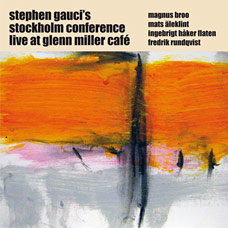 Live at Glenn Miller Café, parts 1 & 2  - CD cover art