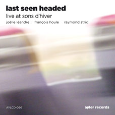 Last Seen Headed, Live at Sons d'Hiver - CD cover art